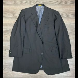 Brooks Brothers Brown Herringbone Blazer 46R